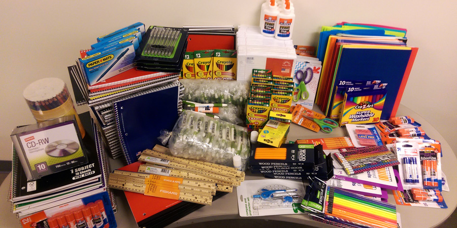 DFWCGI Involved - Townsell Elementary School Supply Drive